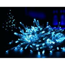Set 200 Blue LED Supabrights Christmas Fairy Lights Indoor or Outdoor Use