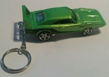 Diecast 69 dodge daytona hotwheels Toy Car Keyring Keychain