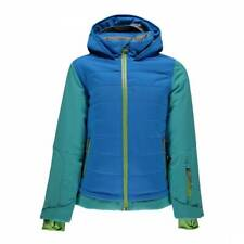 SPYDER Girls Moxie Timeless Hoody Ski Quilted Padded Down Jacket Coat Age 10