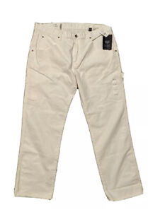Gap Worker Jeans 1980's Edition White Size 32/30 NWT