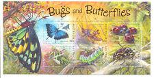Australia-Bugs and Butterflies mnh sheet