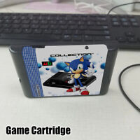 Game Cartridge The Ultimate 1000 In 1 EDMD Remix MD For USA/ Japanese /European