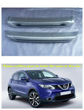 Front & Rear Bumper Skid Protector Guard 2pcs for Nissan Rogue Sport 2017 - 2018