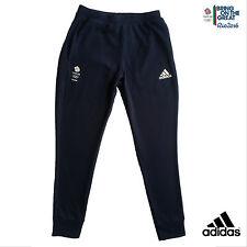 "ADIDAS TEAM GB  2016 OLYMPICS ATHLETE RIO CONDIVO CUFF LEG SWEAT PANTS Size 40"""