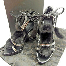 GUCCI sandals Python  mink unisex []  Authentic Used Y5886