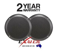 AXIS MA600B BLACK Marine Speakers 60W Ultra Slim Flush mount 160mm