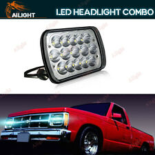 """7x6 7x5"""" LED Headlight Square Lamp Bulb Hi/Low Sealed Beam For Chevy S10 Sonoma"""
