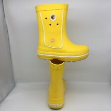 Crocs Yellow Pull On Boots Junior US Size 2