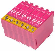 6 Magenta Compatible Ink Cartridges For T0483 TO483 C13T04834010 NON-OEM