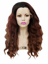 Full Lace Ombré Wavy Wigs & Hairpieces