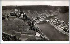 Cochem Mosel Postkarte 1971 gelaufen Burg Mosel Neue Brücke von den drei Kreuzen