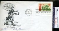 Johnny Unitas Jsa Certified Signed 1969 Fdc Autograph Authentic