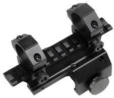 "NEW UTG MINI-14 TACTICAL RIFLE GUN SCOPE MOUNT WEAVER STYLE 1"" RINGS MNT-214"