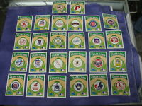 "Mint ""Post Cereal"" Super Sugar Crisp History Of MLB 26 Team Cards (1983)"