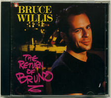 BRUCE WILLIS The Return of Bruno; CD 1997 Razor & Tie