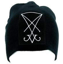 Sigil of Lucifer Beanie Alternative Occult Clothing Knit Cap Seal of Satan