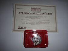 French Army 1er Régiment de Tirailleux Insignia + Certificat D'Authenticite +Box