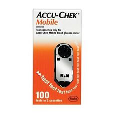 Accu-Chek Mobile Test Cassette 2 Cassettes x 50 Tests (100 Tests)