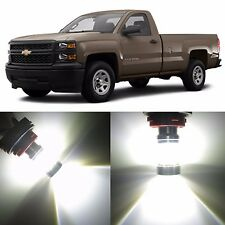 Alla Lighting Daytime Running Light 4157 White LED Bulb for 04~12 Chevy Colorado