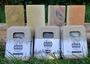 Handcrafted Hemp Soap