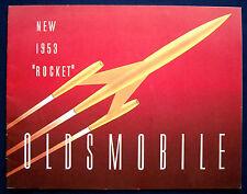 Prospectus Brochure 1953 OLDSMOBILE 88/Ninety-Eight (USA)