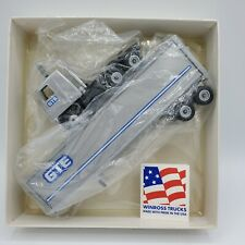 Winross Diecast GTE truck tractor trailer
