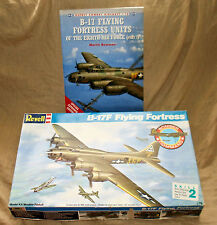 B-17 Kit & Book:1/72  Revell B-17F Flying Fortress / Osprey B-17 Flying Fortress