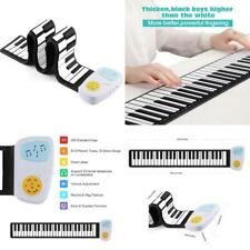 Flexible 49 Key Roll Up Piano Build-In Speaker Battery Or Usb Powered Keyboard