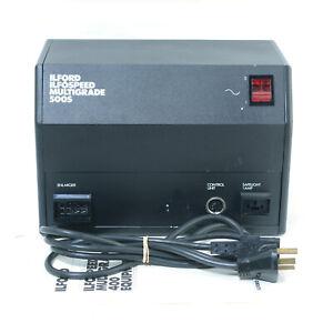 Ilford Ilfospeed Multigrade 500S Enlarger Power Supply Unit! Photography