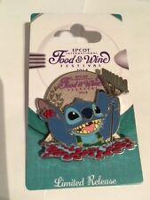 2014 Epcot® International Food & Wine Festival – Stitch Pin 103686
