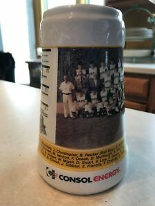 Pittsburgh Pirates 1960 World Series Beer Stein Consol Energy