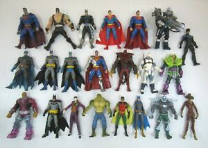 Lot Of 20+ Mattel DC SUPERHEROES Figures S3 Universe Classics Batman Superman