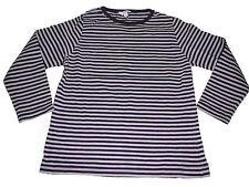 TCM tolles Langarm Shirt Gr. 110 / 116 lila geringelt !!