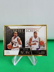 2020-21 Noir Split Screen FOTL SSP /11 #283 Tracy McGrady Vince Carter R6220J