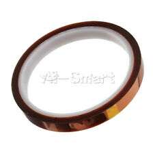 0.8CM 8mm x 30m 100ft Kapton Tape BGA High Temperature Heat Resistant Polyimide