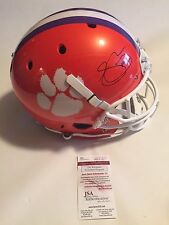 Sammy Watkins Autographed Full Size Clemson Tigers Helmet JSA Witnessed COA