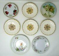 Vintage Saucers Lot of 8 Fine China