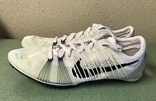 Nike Zoom Victory 2 White Volt Black Mens Sz 9 Track & Field Spikes NEW!!!