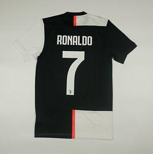 NWOT Ronaldo #7 Juventus 2019 2020 Home Football Soccer Shirt Jersey Adidas