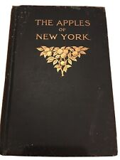 Antiquarian 1905 THE APPLES OF NEW YORK Volume I Hardback Agriculture Book