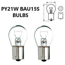 PY21W BAU15s 581 CLEAR Indicator/Stop Brake/Reversing/Tail Car Light Bulbs 12V
