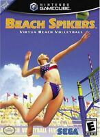 Beach Spikers Nintendo Gamecube Game Used
