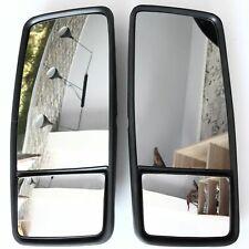 2 x LKW Aussen Spiegel XL doppel 50 x 22 cm universal, toter Winkel + vergrößern
