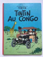 TINTIN AU CONGO 2C2 - HERGé  1977 TBE