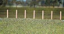 Ratio - 423 - OO Gauge GWR Lineside Fencing (36 posts with wire)