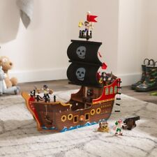 Kidkraft Adventure Bound™ Pirate Ship | Wooden Toy Pirate Ship with Figures