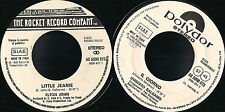 DISCO 45 GIRI Elton John / Umberto Balsamo - Little Jeanie / Il Giorno  (PROMO)