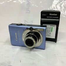 Canon PowerShot SD1100 IS Digital ELPH Camera 8.0 MP w/ Battery + Charger (Blue)