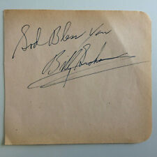 More details for billy graham - american evangelist - original hand signed autograph