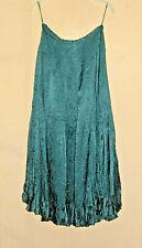 Maxi skirt. Monsoon size 8. Dark emerald green. Lined. Long and full. Crinkled